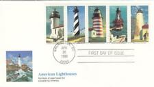 1990, American Lighthouses, Fleetwood, FDC (D13795)