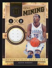 2010-11 Gold Standard Kevin Durant Jersey #192/299