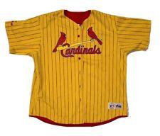 Rare Vintage Majestic St. Louis Cardinals Mark McGwire 90's Baseball Jersey XXL
