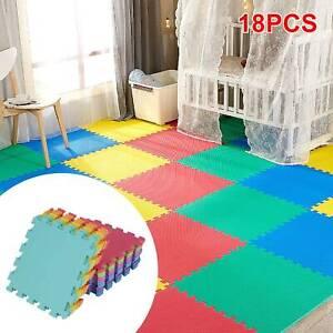 18 Large Soft Foam EVA Kids Floor Mats Jigsaw Tiles Interlocking Garden Play Mat