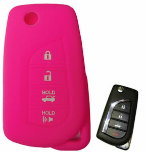 Toyota Keyless Entry Remote Key Fob Rubber Cover Camry Corolla 2019 2020 2021