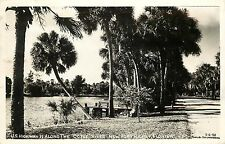 1949 Real Photo Postcard; US Hwy 19 on Cotee River, New Port Richey FL Lagerberg