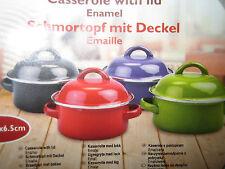 Markenlose Koch- & Suppentöpfe aus Emaille