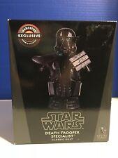 Star Wars Death Trooper Specialist Bust Gentle Giant GameStop Exclusive