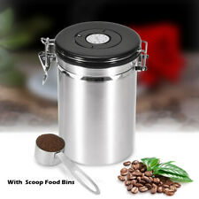 Kitchen Coffee Canister Stainless Steel Large Storage Container