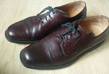 Men's Bostonian Oxfords Marco Burgundy Shoes Size 8 M Made in Italy  #27848