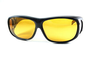 UV43199PLYL FIT-over Sunglasses Yellow Polarized Lens