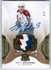 16/17 UD THE CUP MATT DUCHENE #26 BASE GOLD PATCH AUTO /8 COLORADO AVALANCHE