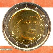 Sondermünzen Italien: 2 Euro Münze 2013 Boccaccio Sondermünze zwei€ Gedenkmünze
