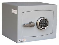 Securikey Mini Vault Silver S2 Size 1 Keypad Operated Safe - £4K Cash Rating