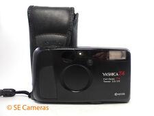 Yashica T4 Carl Zeiss 35 mm F3.5 Formule optique Tessar 35 mm film camera & Case Entièrement testé