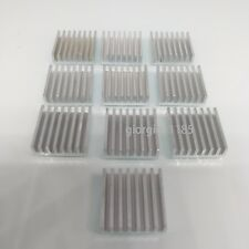 US Stock 10pcs 20 x 20 x 6mm Heat Sink Cooling Aluminum Heatsink CPU IC LED