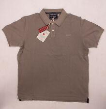Woolrich Herren Poloshirt | Polohemd mit Schriftzug | Schmale Passform