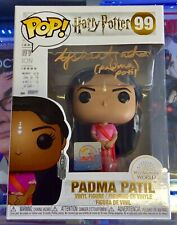 HARRY POTTER PADMA PATIL FUNKO POP! FIGURE - SIGNED BY ASHAN AZAD