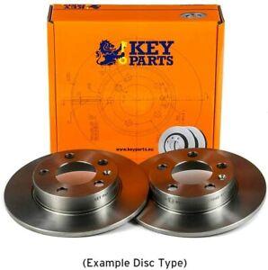 2x Brake Discs (Pair) Solid 240mm KBD4001 Key Parts Set 0060811879 105412201500