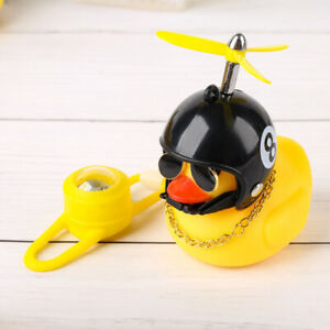 Duck Bike Bell Handlebar Bicycle Horns for Kids Rubber Duck Bicycle Accessories