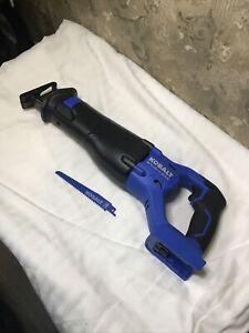 Kobalt 24V Brushless Cordless Reciprocating Saw KRS 1824B-03 Tool/Blade Only