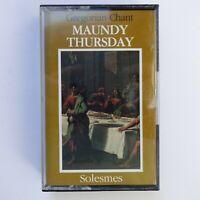 Gregorian Chant Maundy Thursday (Cassette)