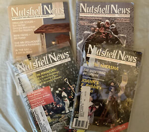 Four Editions Of The Nutshell News Magazine From 1994, One Unopened
