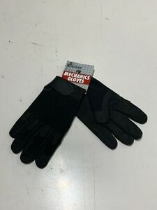 Skilcraft Mechanics Work Gloves Size Large Black New Pair Tactical Military