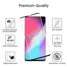 For Samsung Galaxy S10 5G Black Tempered Glass Real Shatterproof Screen Guard