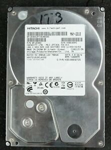 Hitachi 1 TB Internal HDD 0F10383 7200rpm Windows 10 + Desktop Apps EL1525