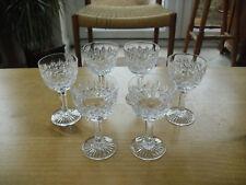 "Set of 6 Thomas Webb Wellington Port Glasses - 4 1/4""(<11cms)"