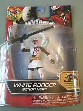 Power Ranger NINJA STEEL WHITE RANGER  New in sealed blister UK SELLER