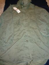 Parka Night Camouflage Desert fish tail Vintage Issue Authentic Camo Adult Small