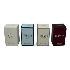 Calvin Klein, Variety CK One, Eternity Air, Eternity, Euphoria New With Box