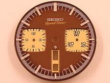 New BROWN Dial SEIKO 6138-0040 BULLHEAD Chrono Watch