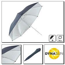 DynaSun KU33SR 84cm Reflector Silver Black Umbrella Softbox x Studio Photo Video