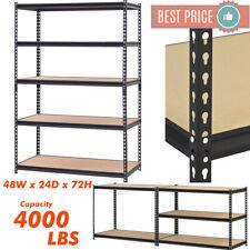 Heavy Duty Metal Muscle Rack Shelving Storage 48