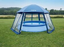 Pooldach für Aufstellpools 400cm Dach Pool Überdachung Zelt
