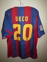DECO #20 Barcelona 2004-05 home shirt Nike vintage jersey maillot trikot camisa