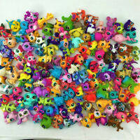 Xmas gift Lot 20Pcs Littlest Pet Shop Animal dog cat Mini Figure Doll Toy random