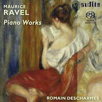 Romain Descharmes - RAVEL: PIANO WORKS [CD]