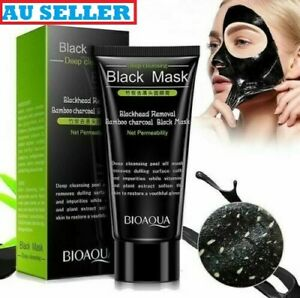 Deep Cleansing Peel-Off Black Purifying Face Mask Charcoal Blackhead Remover AU