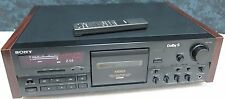 SONY TC-K808 ES 100% WORKING stereo cassette deck