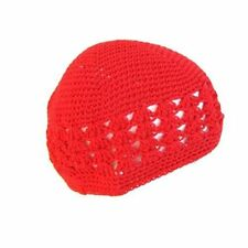 New Red Classic Knitted Skully