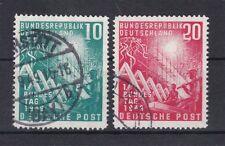 Echte gestempelte Briefmarken aus Deutschland (ab 1945) mit Geschichts-Motiv