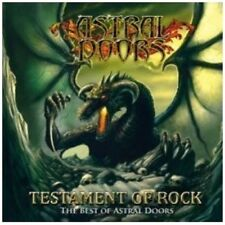ASTRAL DOORS - TESTAMENT OF ROCK  CD NEU