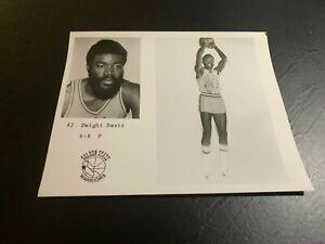 1975 Golden State Warriors Dwight Davis Basketball Team Issue Houston Cougars