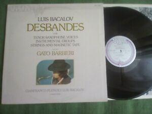 LP: Luis Bacalov/Gato Barbieri - Desbandes - RCA VISTA 8 - 1975