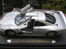 "Mercedes-Benz CLK-GTR AMG Street Version ""Silver"" MAISTO 1:18 GT-Racing Edition!"