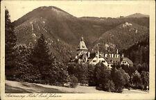 Semmering Niederösterreich s/w AK  ~1920/30 Hotel Erzherzog Johann ungelaufen