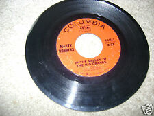 in the valley of the rio grande gardenias in her hair MARTY ROBBINS 45