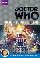 Doctor Who: Death to the Daleks (Remastered) [DVD] Jon Pertwee - NEW & SEALED +
