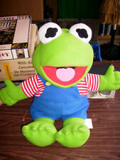 KERMIT FROG stuffed animal 2004 doll MUPPET BABIES 26""