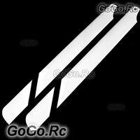 325mm Glass Fiber Main Blade For Trex 450 SE V2 V3 Pro Sport RC Heli White Black